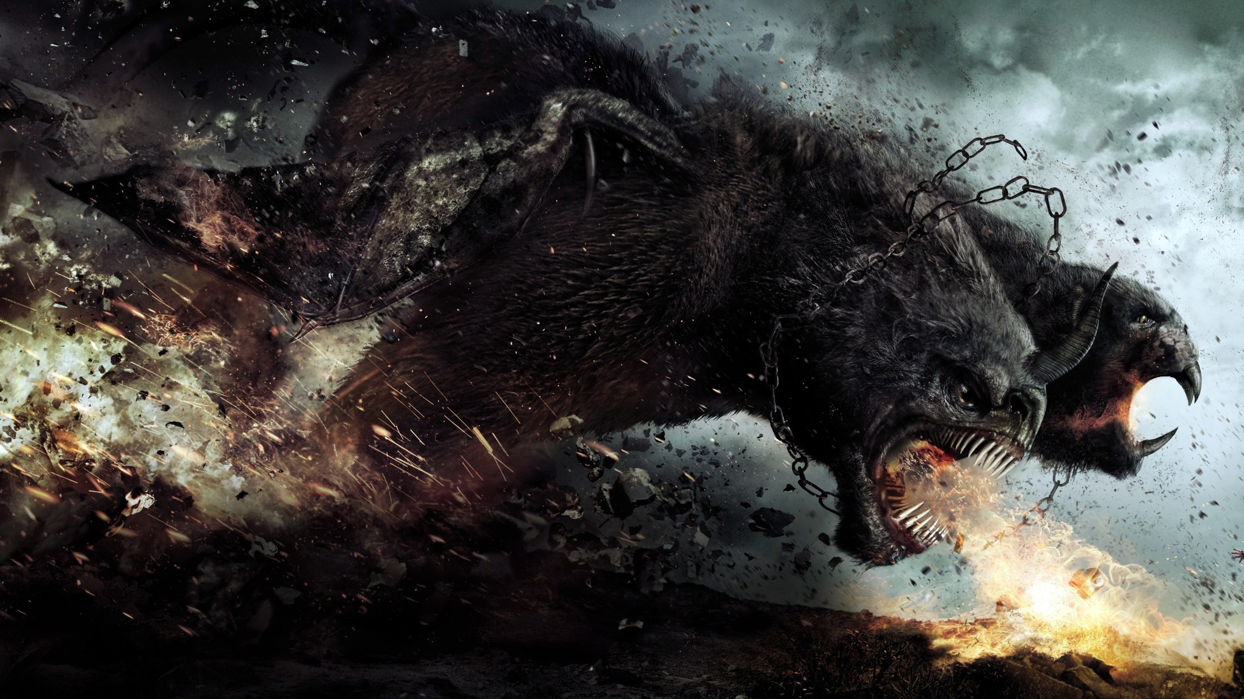 wrath of the titans movie wallpaper background 58204