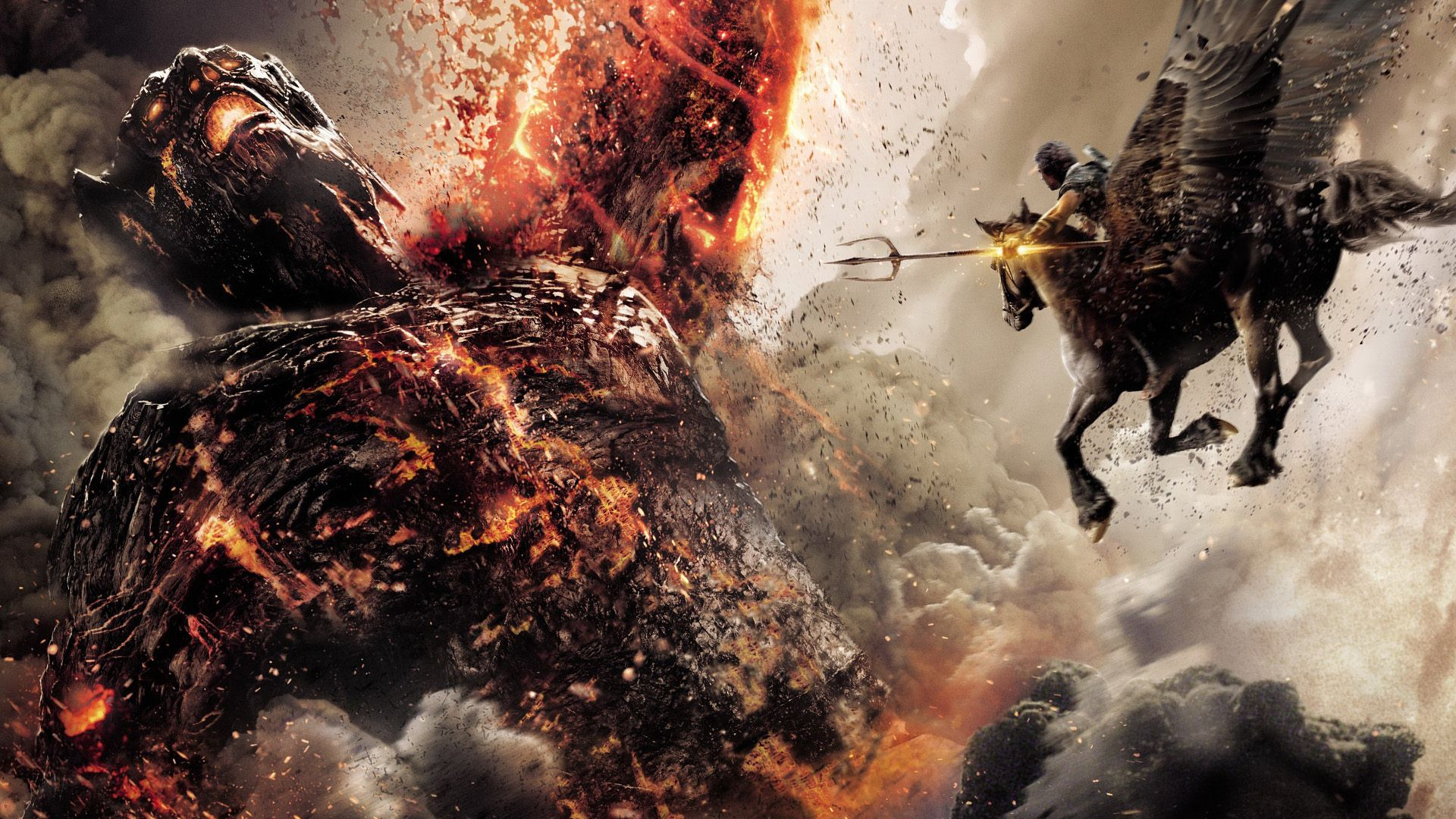 wrath of the titans wallpaper 58195