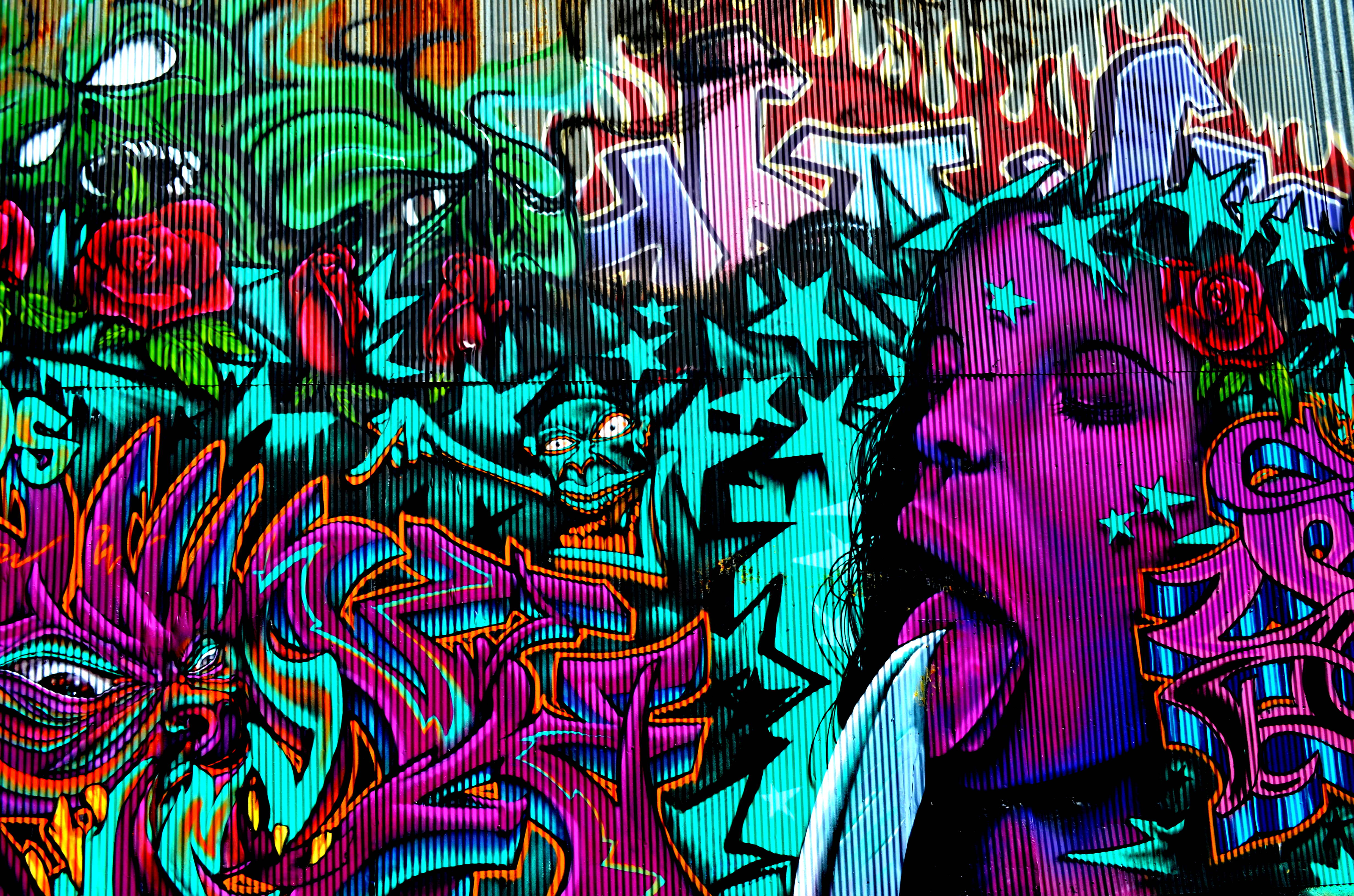 Graffiti Widescreen Wallpaper 4928x3264px