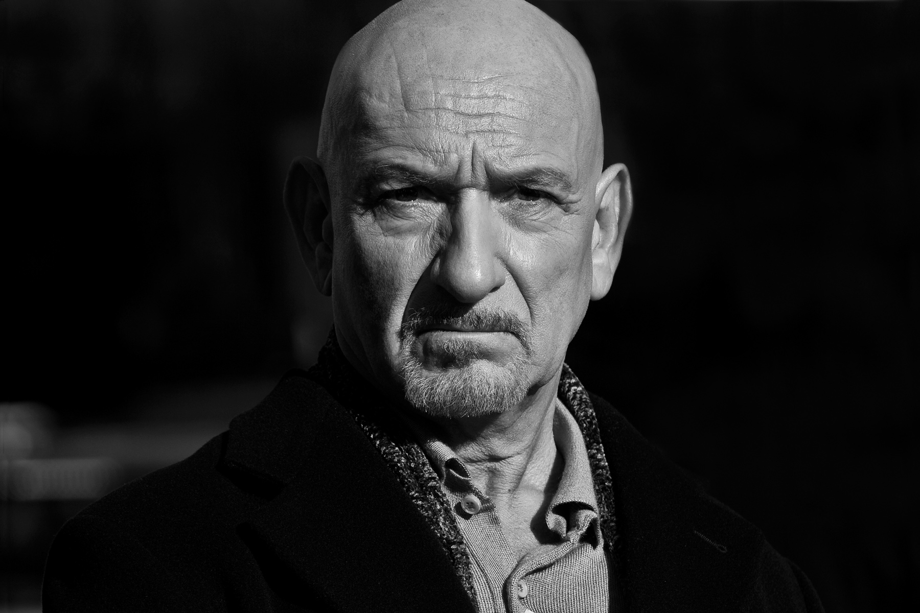 monochrome ben kingsley wallpaper 58922