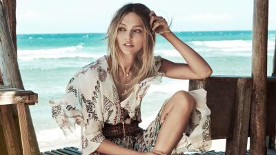 Beautiful Sasha Pivovarova Model Wallpaper 58870