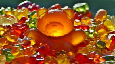 Candy Gummy Bears Wallpaper Background 59015
