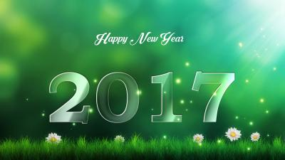 Happy New Year 2017 Desktop Wallpaper 59042