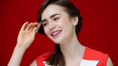 Lily Collins Desktop Wallpaper 50811