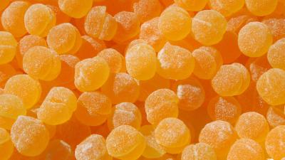 Orange Candy Wallpaper Background 59014