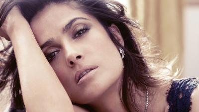 Salma Hayek Celebrity Desktop Wallpaper 52009