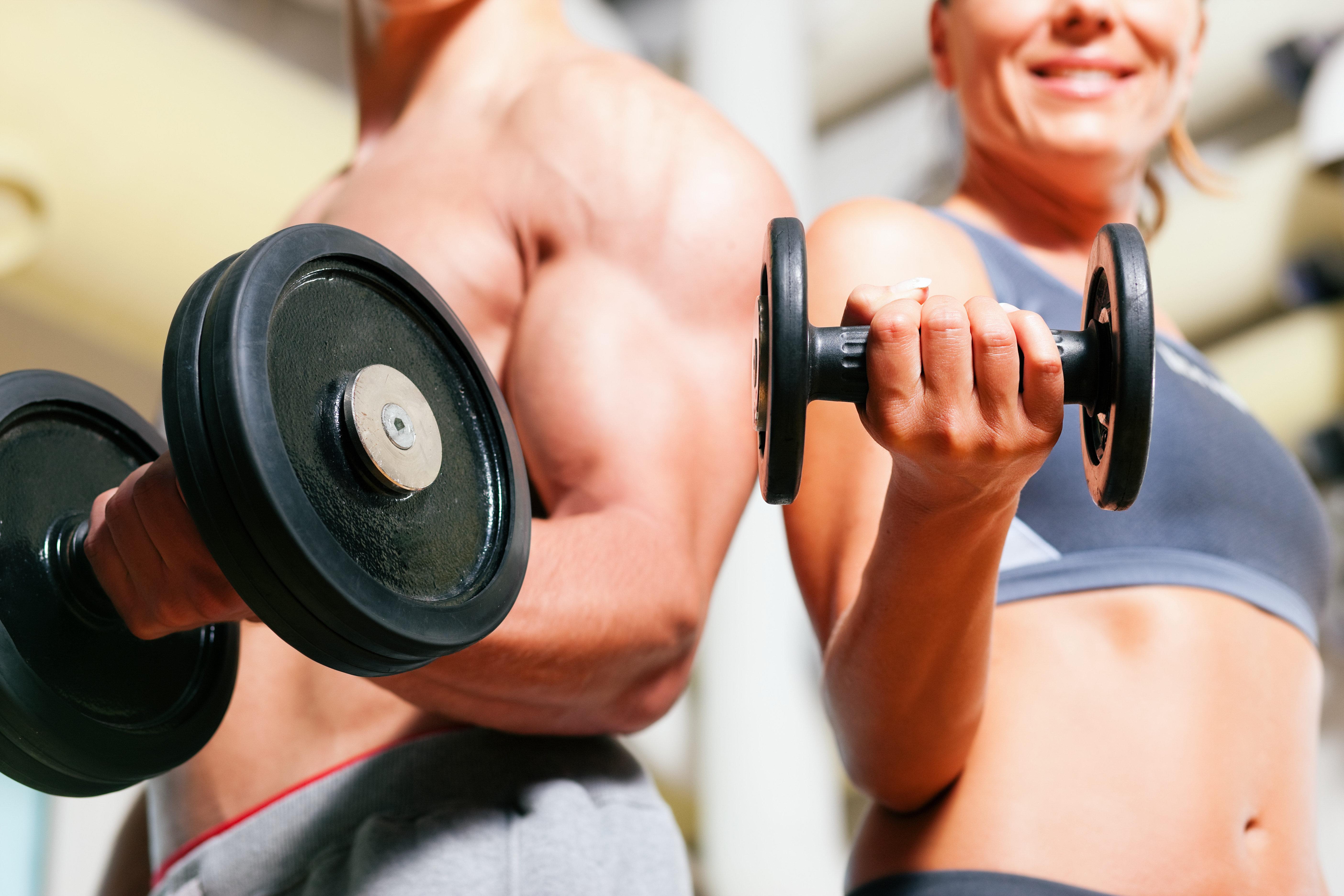 couple fitness widescreen wallpaper 51322