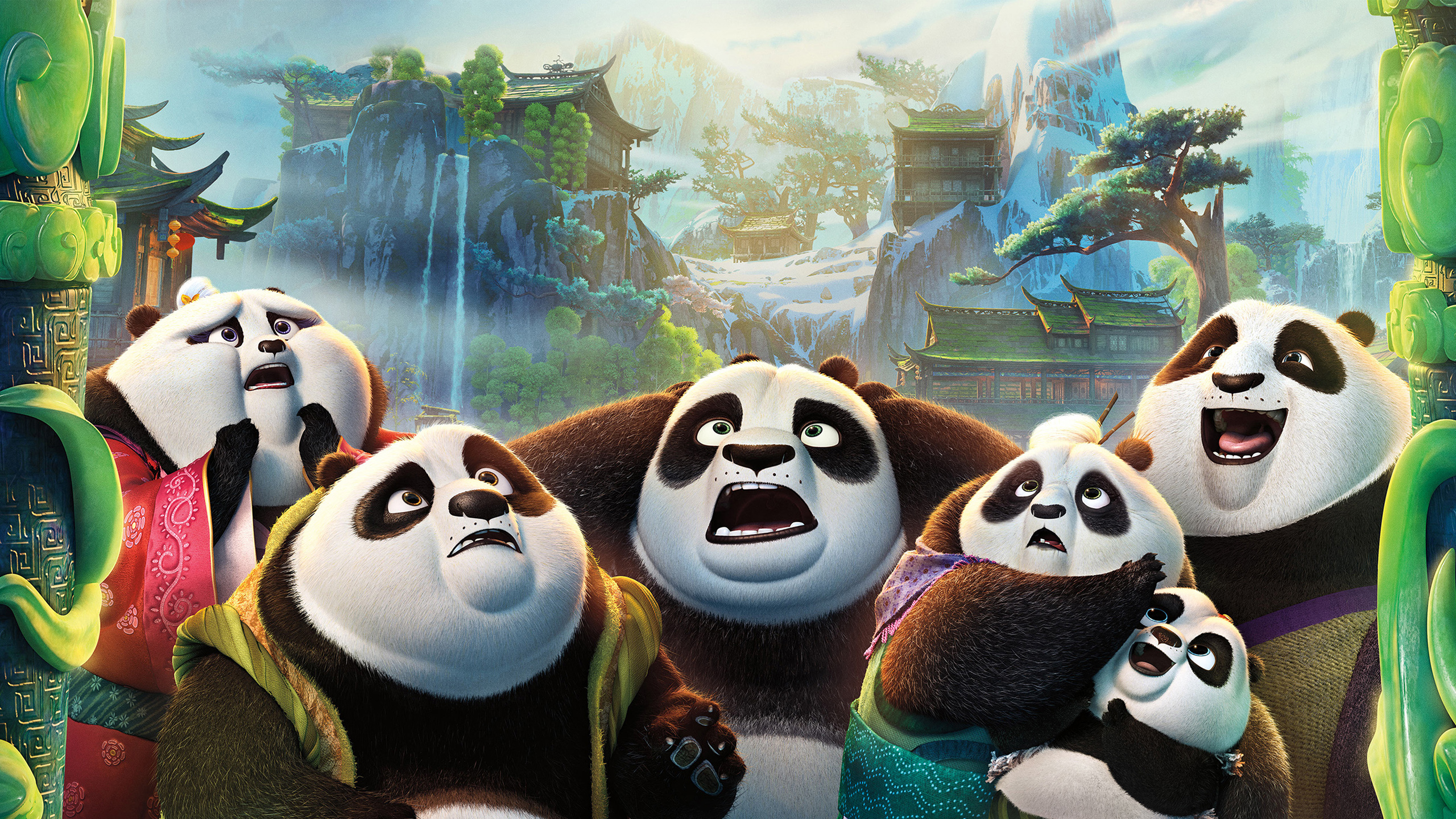 kung fu panda 3 wallpaper background hd 49413