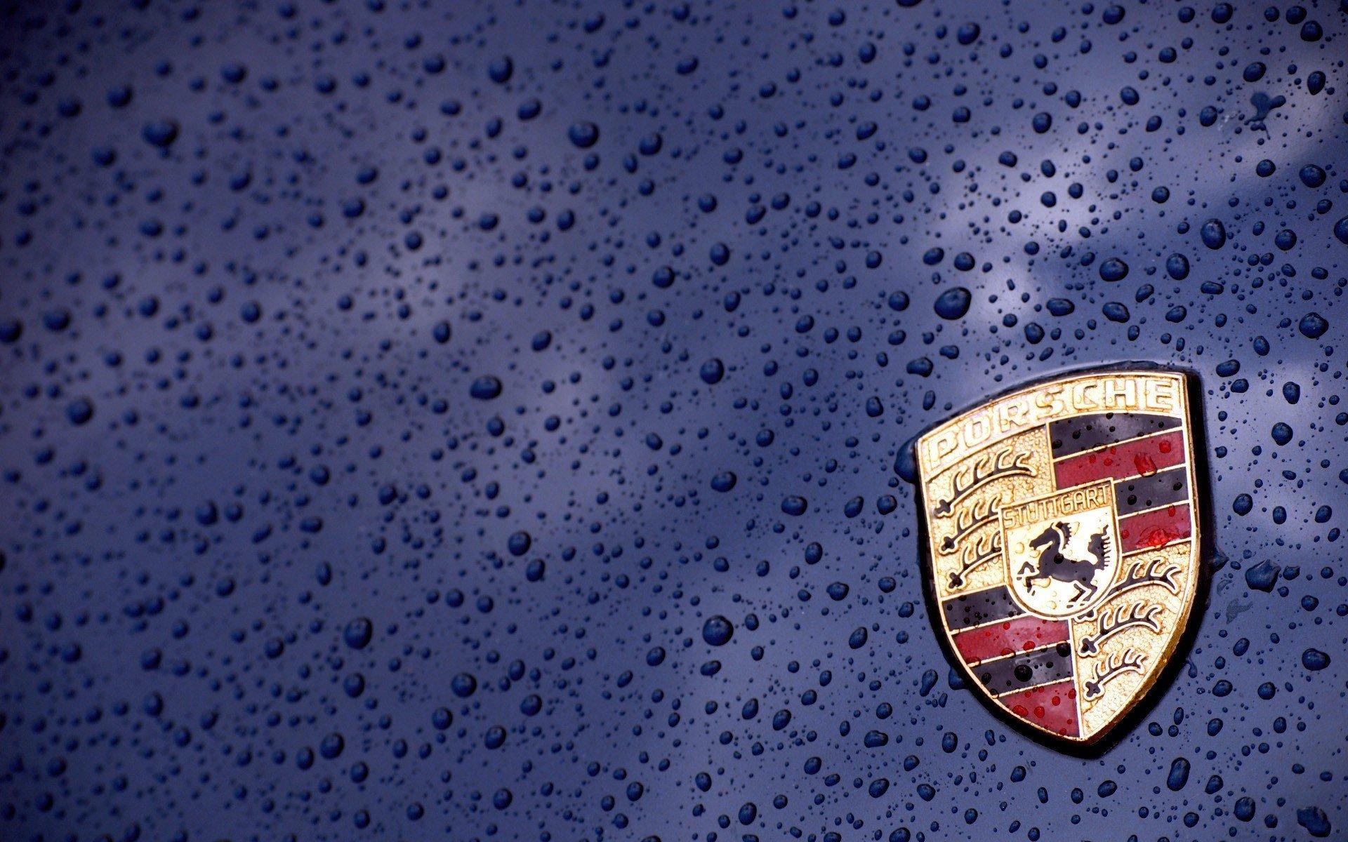 Porsche Logo Desktop Hd Wallpaper 58890 1920x1200px