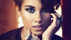 Alicia Keys Face Wallpaper 50951
