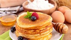 Food Pancakes Widescreen Wallpaper 49918