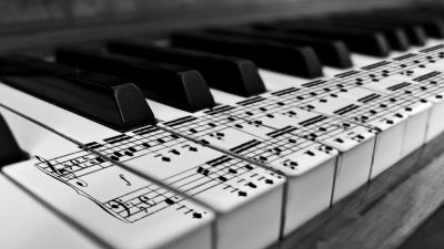 Piano Music Notes Wallpaper 58724