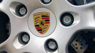 Porsche Car Rim Logo Wallpaper 58889