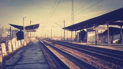 Train Station Desktop Wallpaper 49175