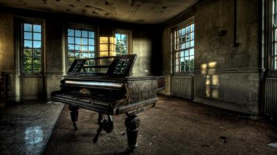 Vintage Piano Desktop HD Wallpaper 58720