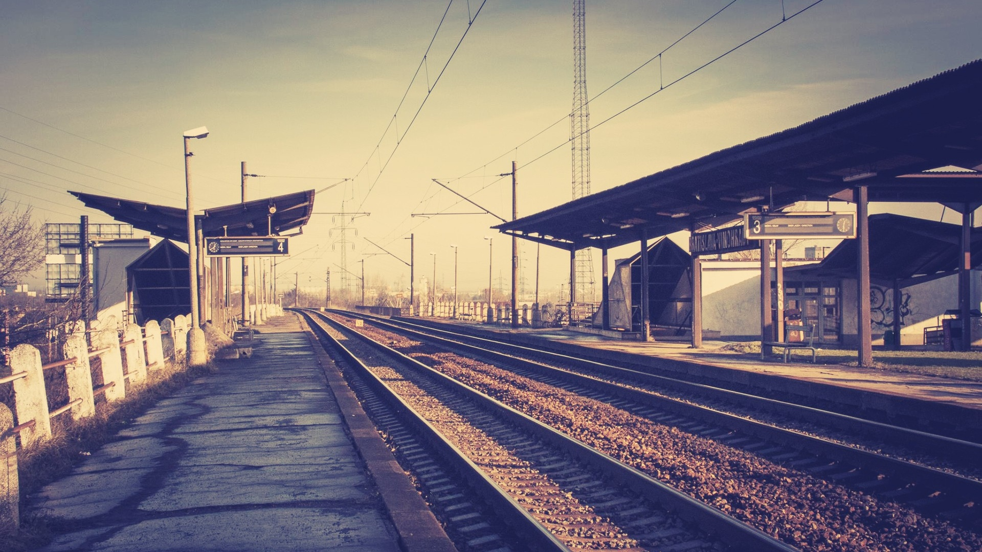 train station desktop wallpaper 49175