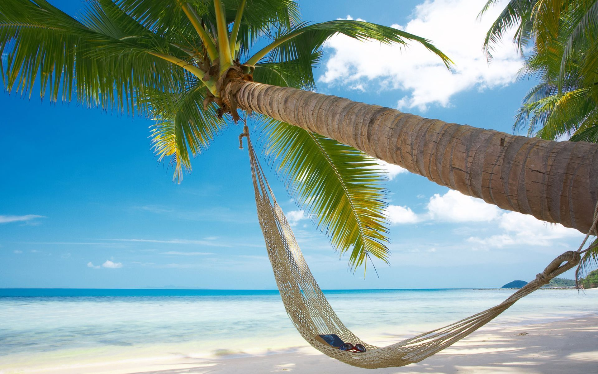 beach hammock wallpaper 49214