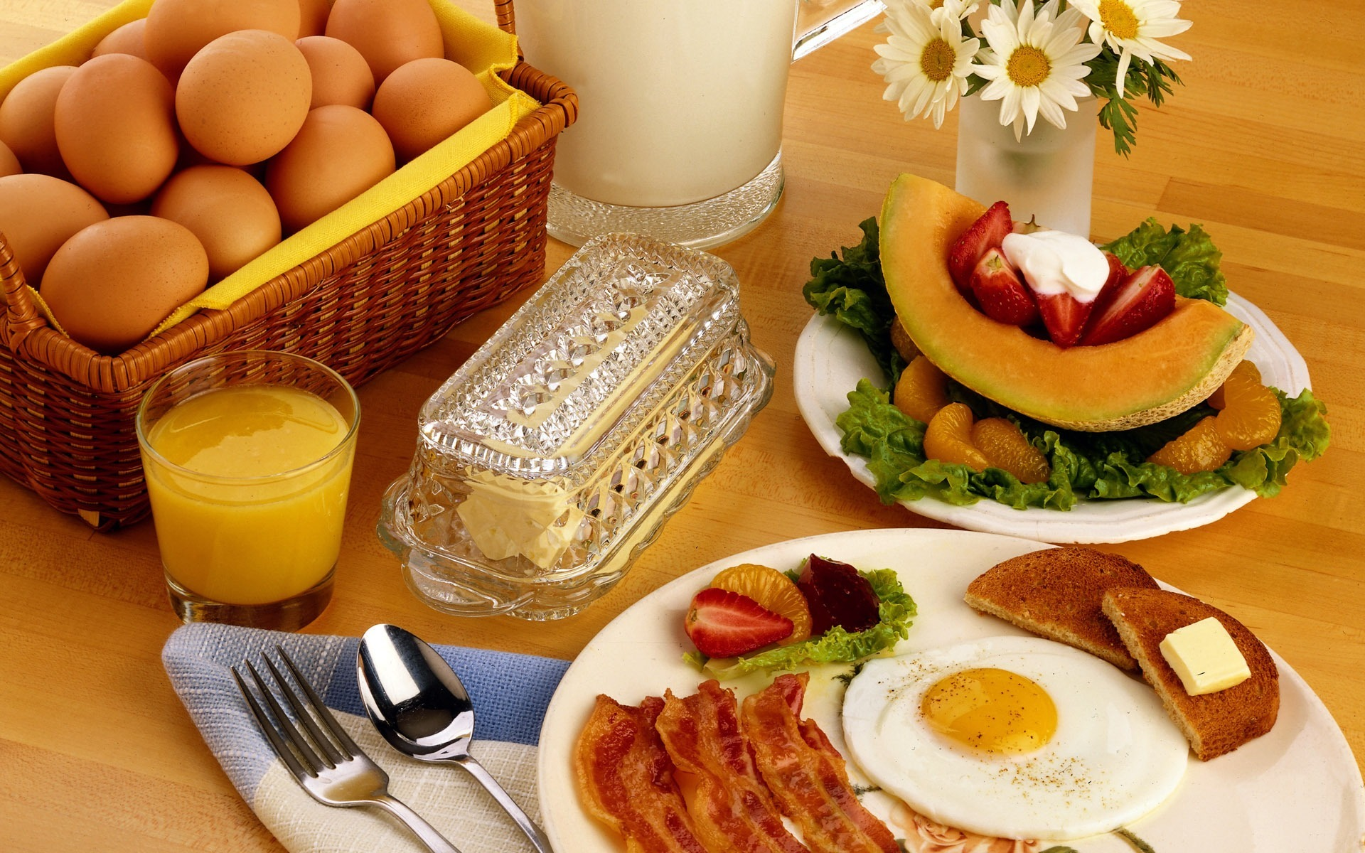 breakfast food desktop wallpaper 49924