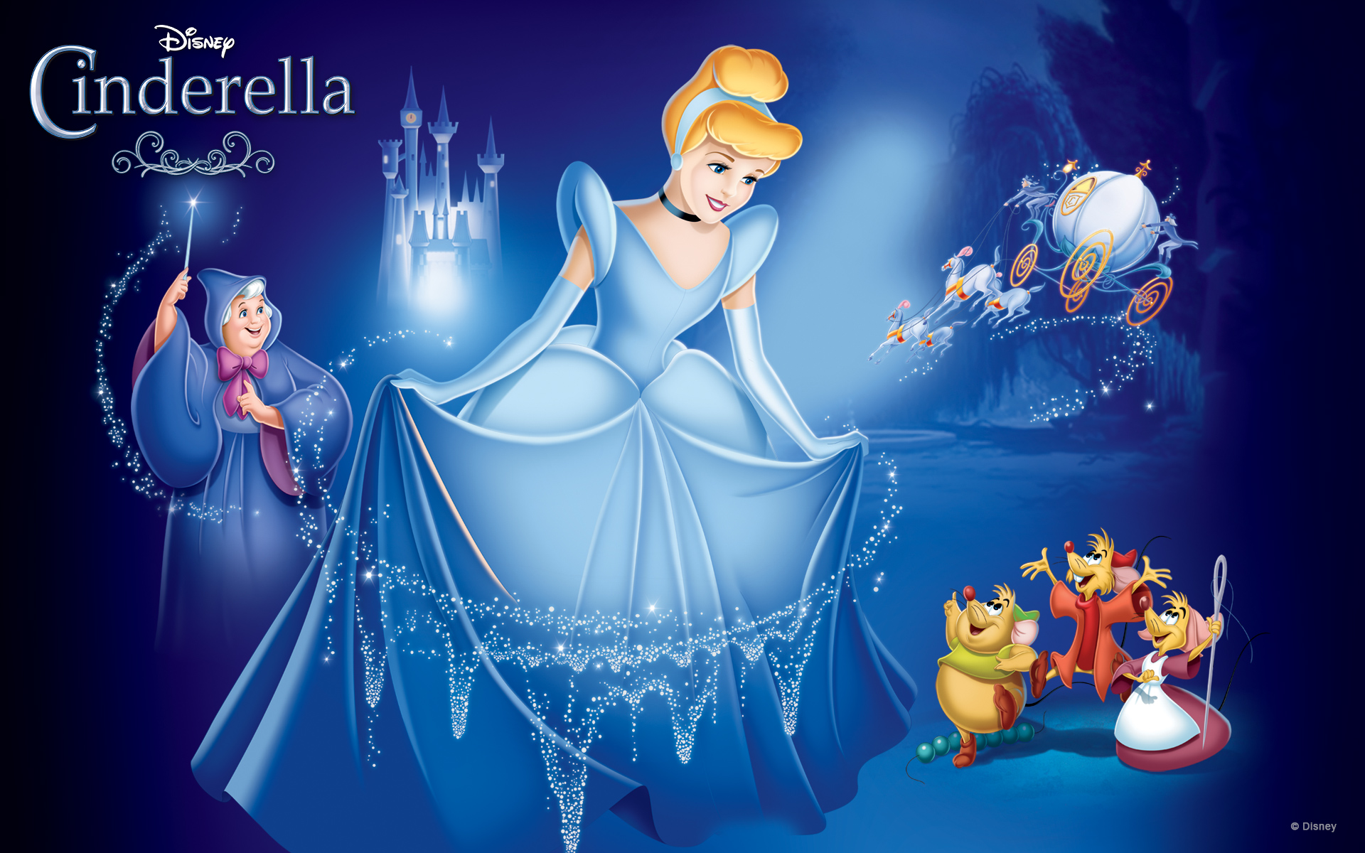cinderella desktop hd wallpaper 52199