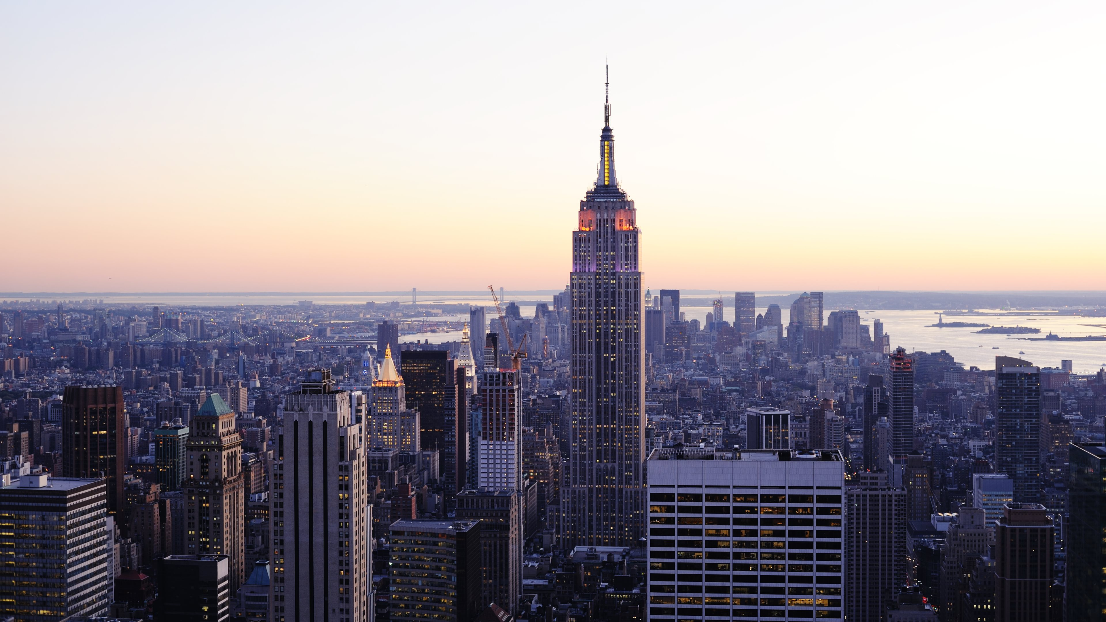 Empire State Building Wide HD Wallpaper 51590 3840x2160px