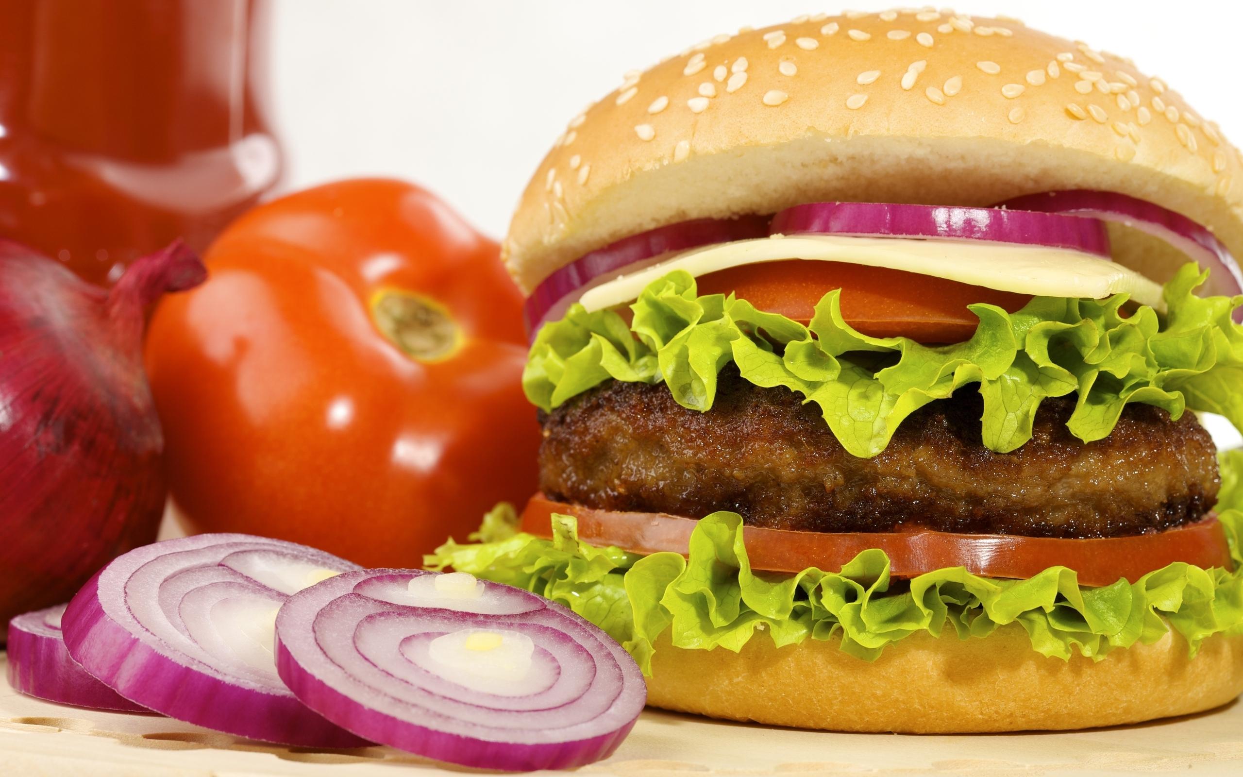 hamburger food wide wallpaper 49931