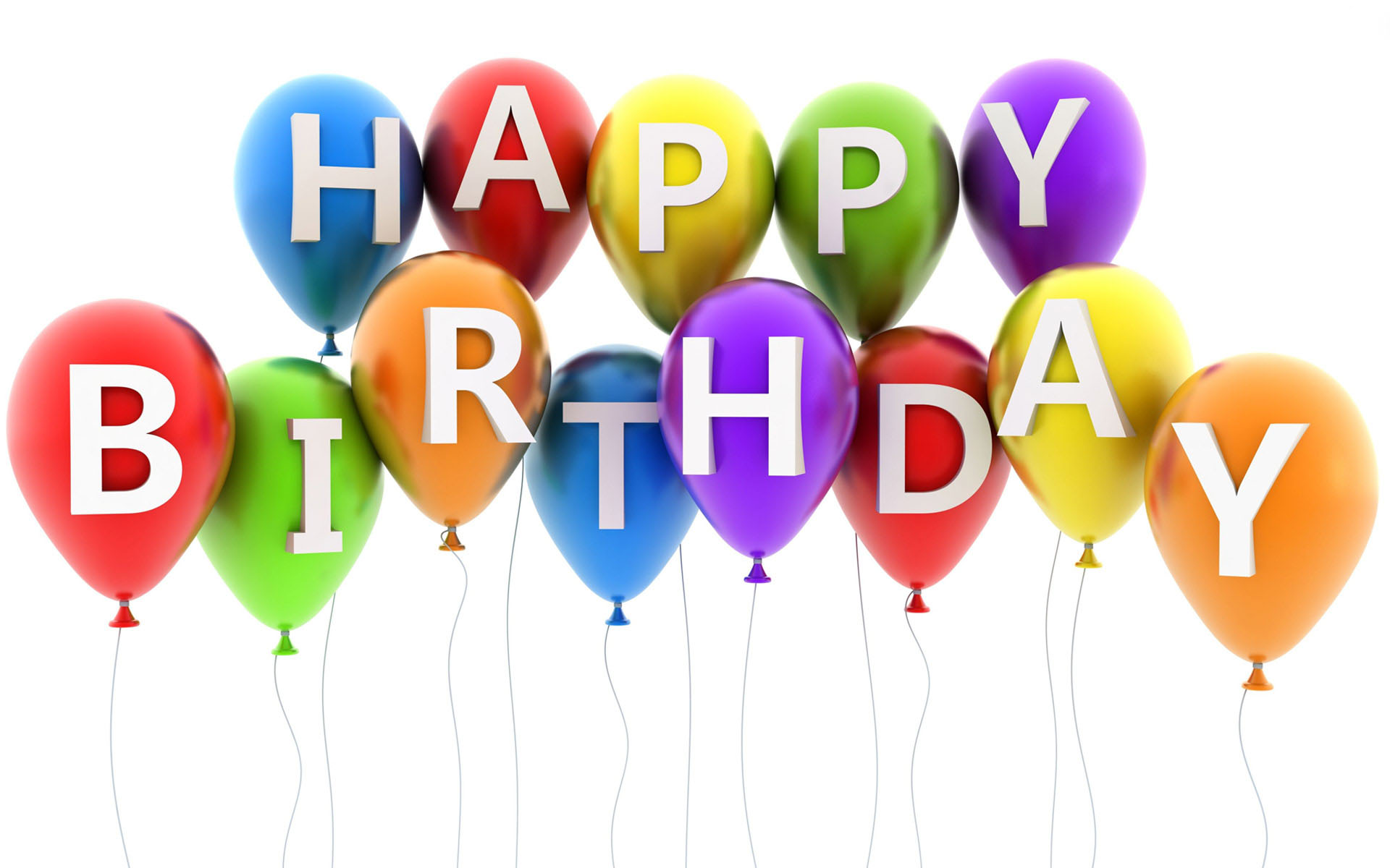 happy birthday balloons wallpaper 49186