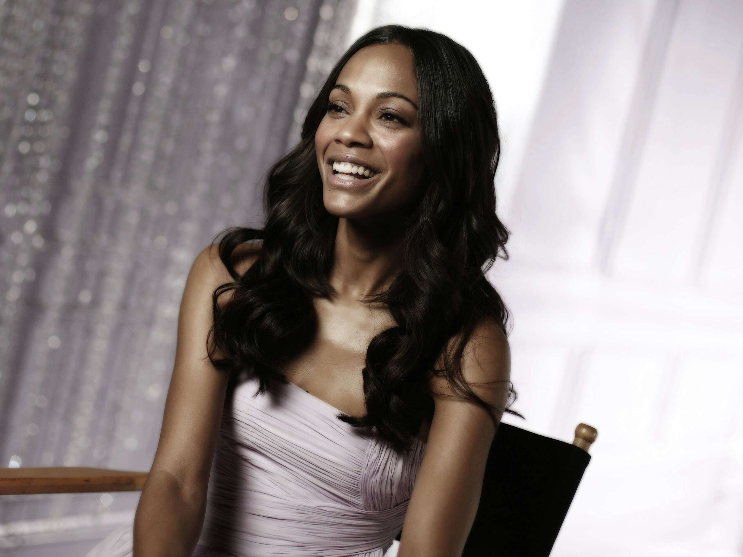 happy zoe saldana wallpaper 51950