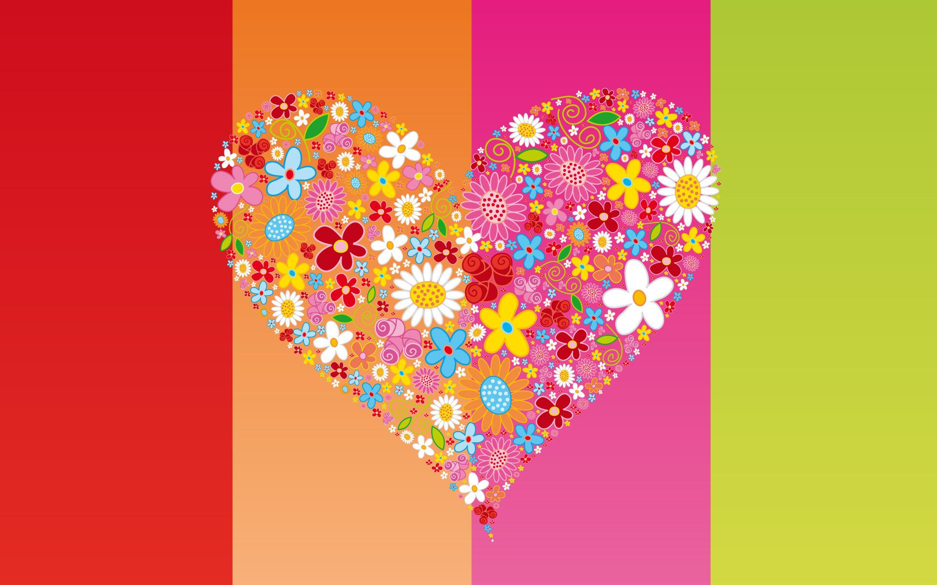 love heart desktop wallpaper 50427