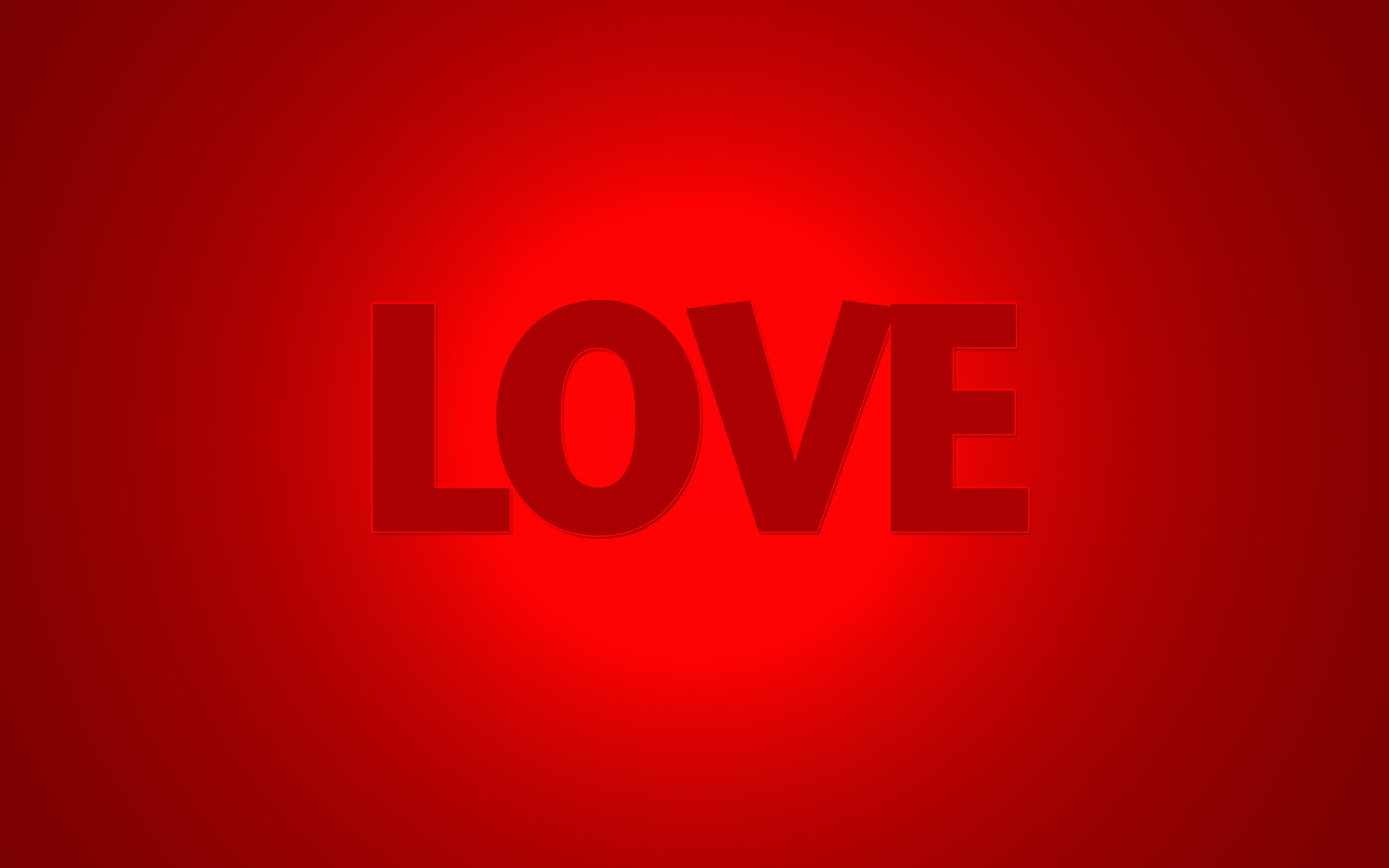 love text wide wallpaper 50431