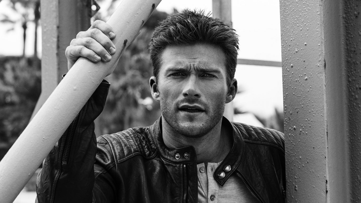 monochrome scott eastwood wallpaper pictures 55847