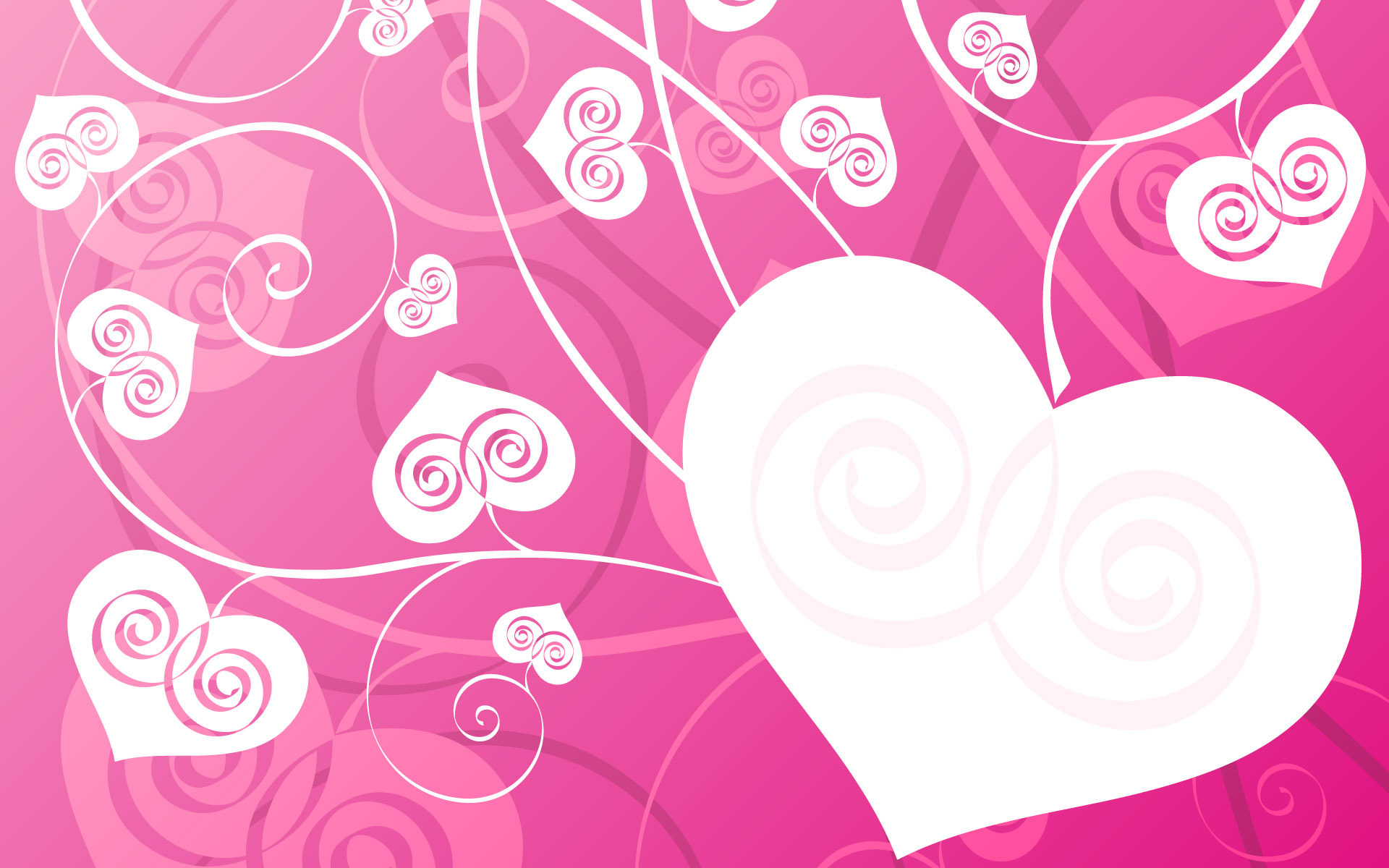 pink love desktop wallpaper 50429