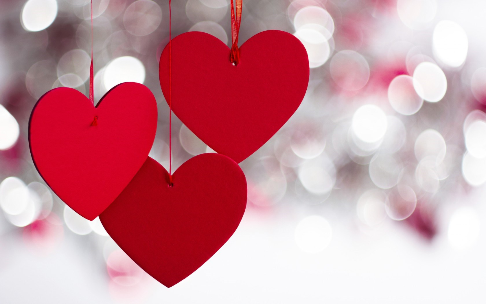 red love hearts wallpaper 50432