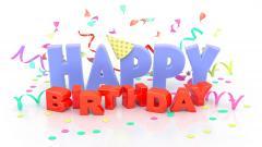 3D Happy Birthday Wallpaper 49183