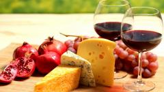 Cheese and Wine Desktop Wallpaper 51361