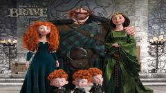 Disney Pixar Brave Family Wallpaper 49110