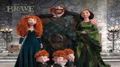 Disney Pixar Brave Family Wallpaper 49110