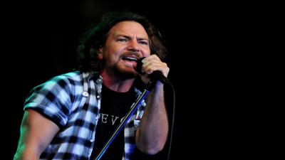 Eddie Vedder Singer Widescreen Wallpaper 55655