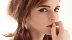 Emma Watson Face Wallpaper 50397