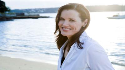 Geena Davis Smile Desktop Wallpaper 57901