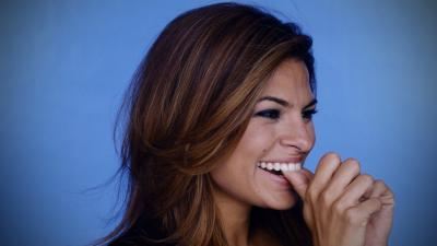 Happy Eva Mendes Wallpaper 53016