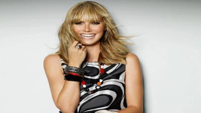 Happy Heidi Klum Computer Wallpaper 51779