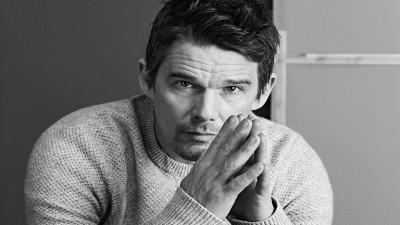 Monochrome Ethan Hawke Widescreen Wallpaper 55935