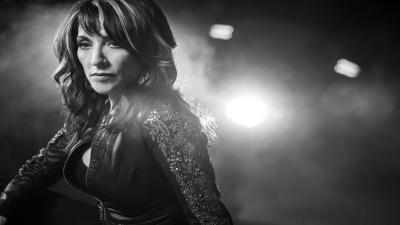 Monochrome Katey Sagal Wide Wallpaper 57930