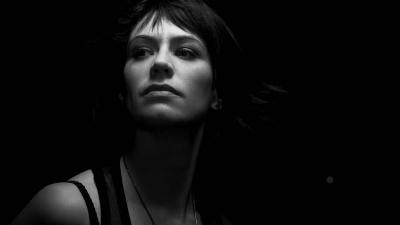 Monochrome Maggie Siff Wallpaper 57925