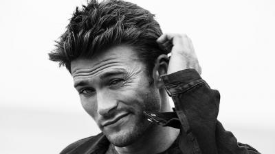 Monochrome Scott Eastwood Wallpaper 55859