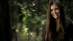 Nina Dobrev Actress Smile Wallpaper 50403