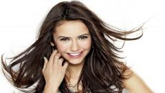 Nina Dobrev Smile Wallpaper 50408