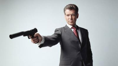 Pierce Brosnan Actor Widescreen Wallpaper 55641