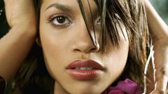 Rosario Dawson Face Wallpaper 51011
