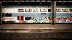 Train Graffiti Wallpaper 49193